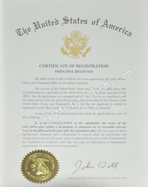 美国注册商标