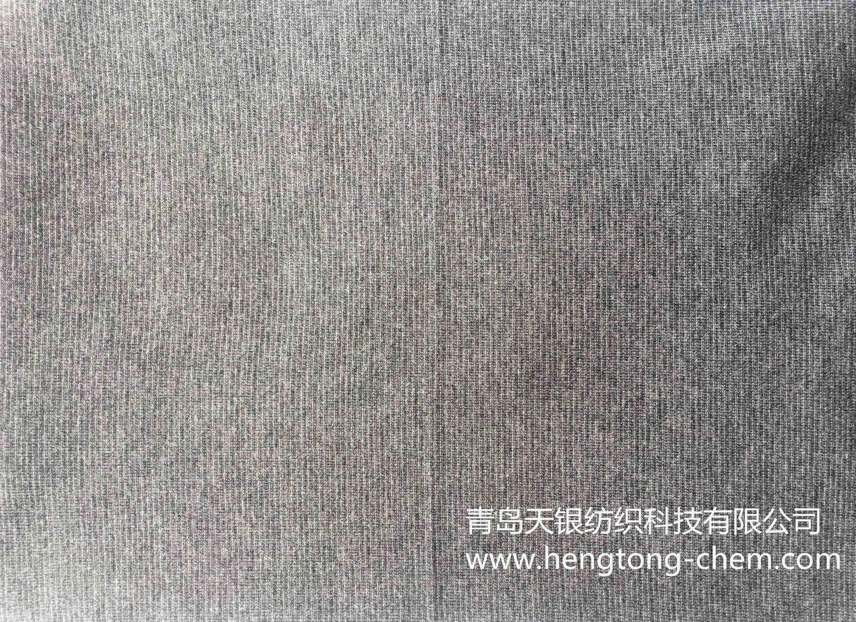 银纤维T恤布 灰色