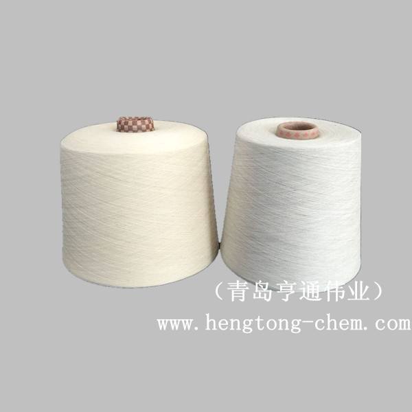 Qingdao tianyin textile factory direct selling blended cotton 32 /40 yarn