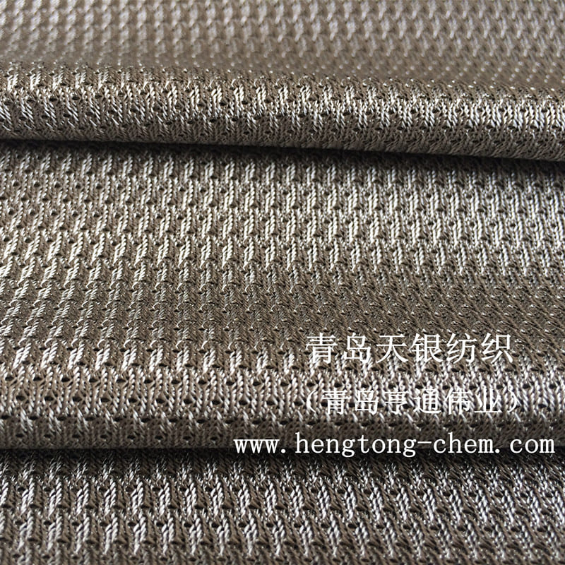 Anti oxidation and sweat resistant silver fiber mesh